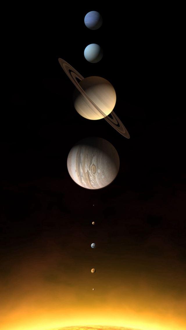 solar system iphone wallpaper - photo #5