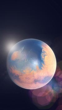 Space earth planet iPhone 5(s/c)~se wallpaper