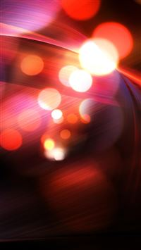 Abstract Red Bokeh iPhone 5(s/c)~se wallpaper