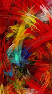 Colorful Digital Painting iPhone 5(s/c)~se wallpaper