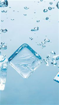 Blue Ice Block iPhone 5(s/c)~se wallpaper