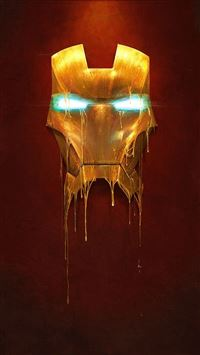 Iron Man Mask iPhone 5(s/c)~se wallpaper