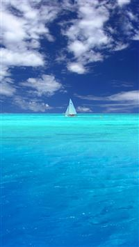 Wonderful Blue Ocean iPhone 5(s/c)~se wallpaper