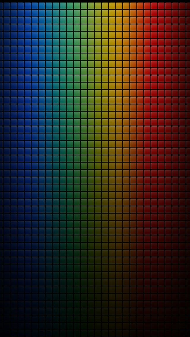 Colorful Dark Grid Iphone Se Wallpaper Download Iphone Wallpapers