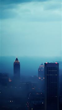Atlanta in Fog iPhone 5(s/c)~se wallpaper