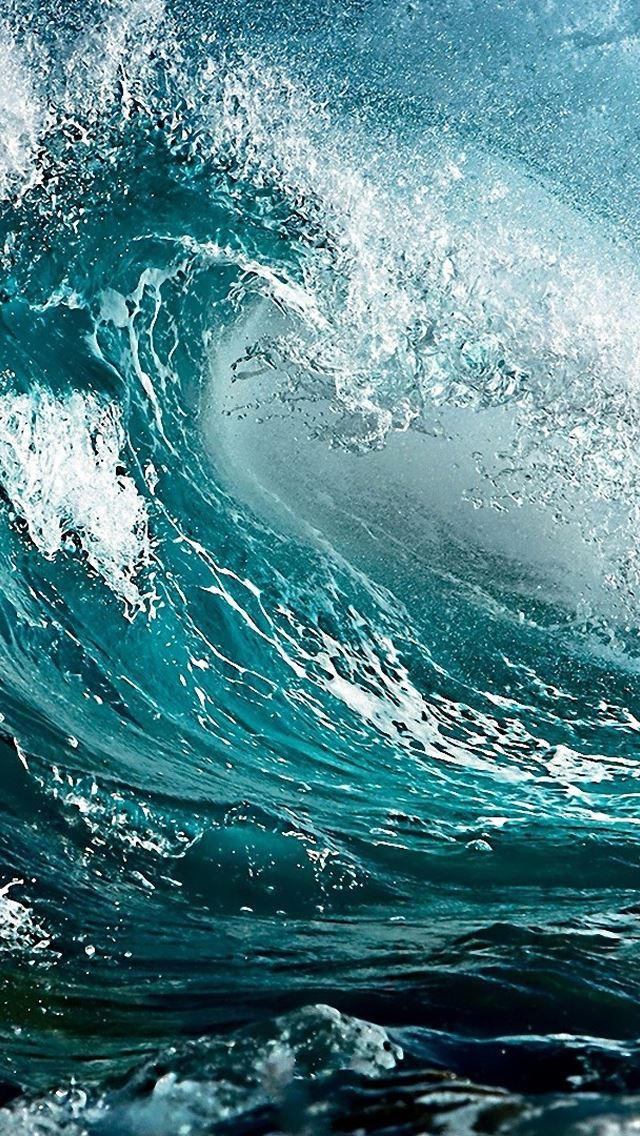 Ocean Waves IPhone Se Wallpaper