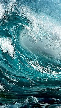 Ocean Waves iPhone 5(s/c)~se wallpaper