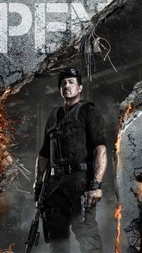 The Expendables 2 iPhone 5(s/c)~se wallpaper