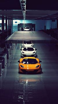 McLaren MP4 12C iPhone 5(s/c)~se wallpaper