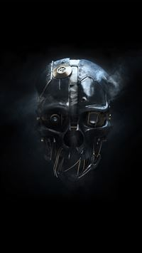 dishonored mask iPhone 5(s/c)~se wallpaper