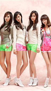 Pink Girls Generation iPhone 5(s/c)~se wallpaper