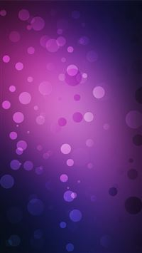 Purple circles iPhone 5(s/c)~se wallpaper