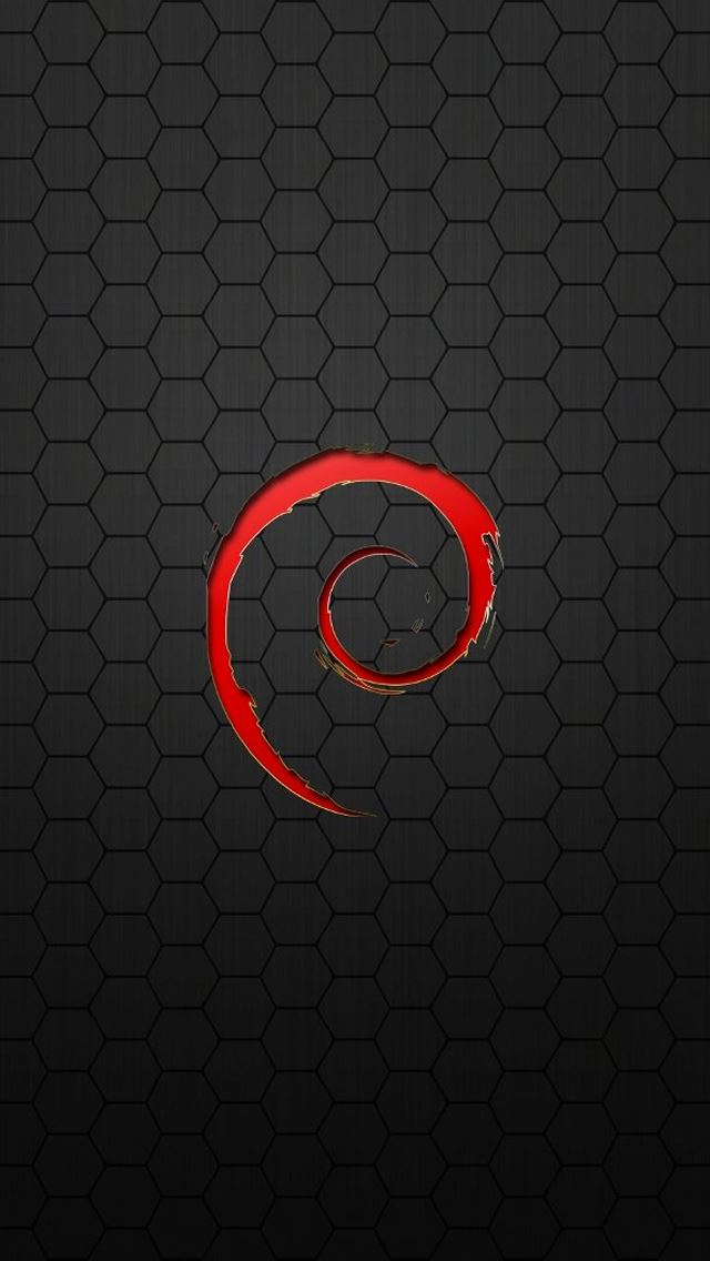 Linux Debian iPhone 5(s/c)~se Wallpapers Free Download