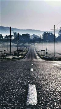 Road to Fog iPhone 5(s/c)~se wallpaper