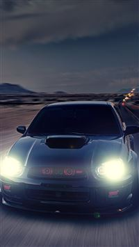 Subaru Impreza WRX STI iPhone 5(s/c)~se wallpaper