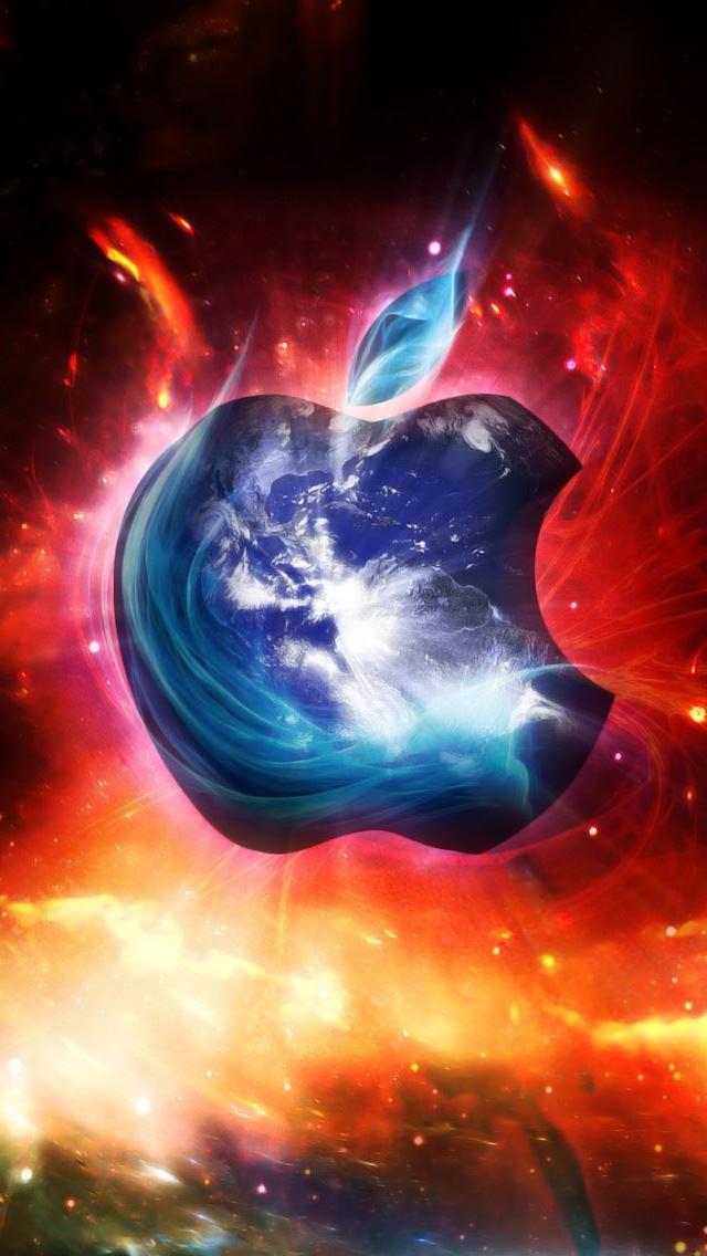 Apple Logo Iphone Se Wallpaper Download Iphone Wallpapers Ipad