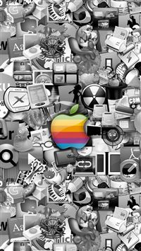 Apple Logo1 iPhone 5(s/c)~se wallpaper
