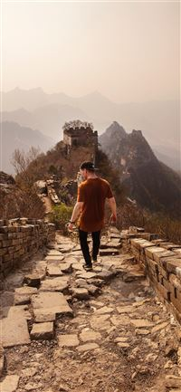 Jiankou Great Wall iPhone 5(s/c)~se wallpaper