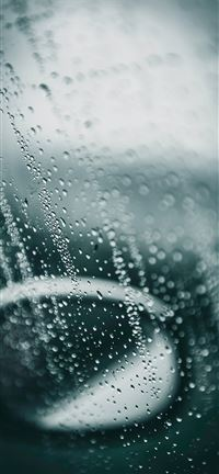 Rain on glass iPhone 5(s/c)~se wallpaper