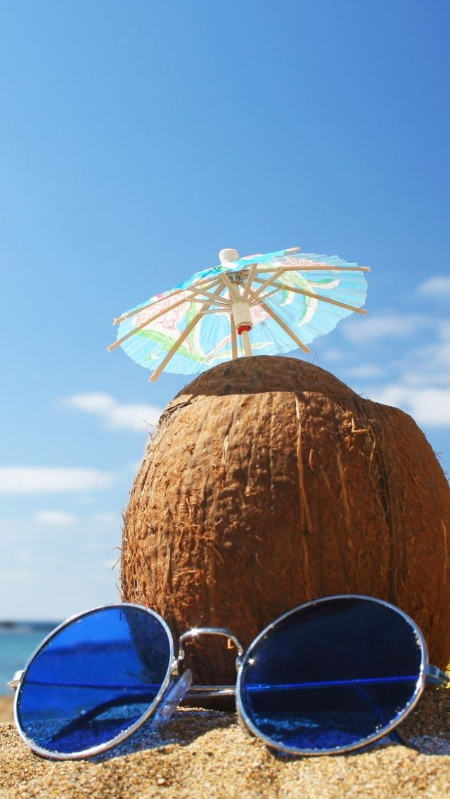 Summer Accessories iPhone se wallpaper