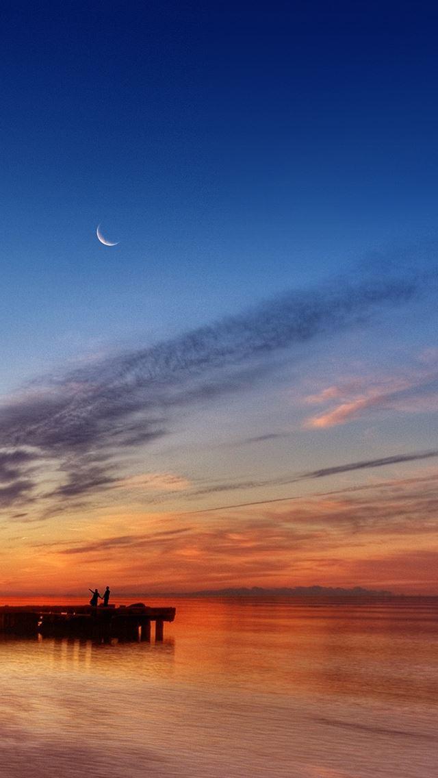 Enjoy The Sunset IPhone Se Wallpaper