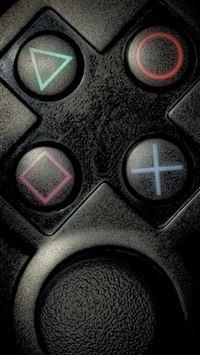Playstation Buttons iPhone 5(s/c)~se wallpaper