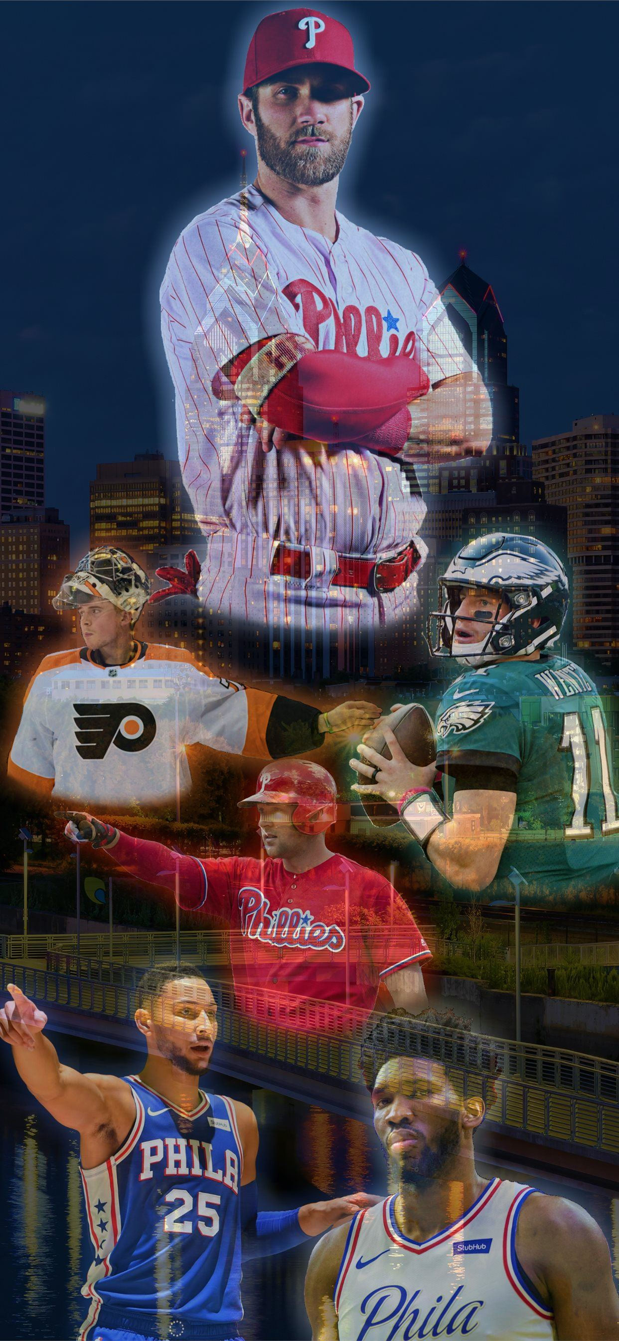 This is my second Future of Philly Made for the iPhone SE wallpaper