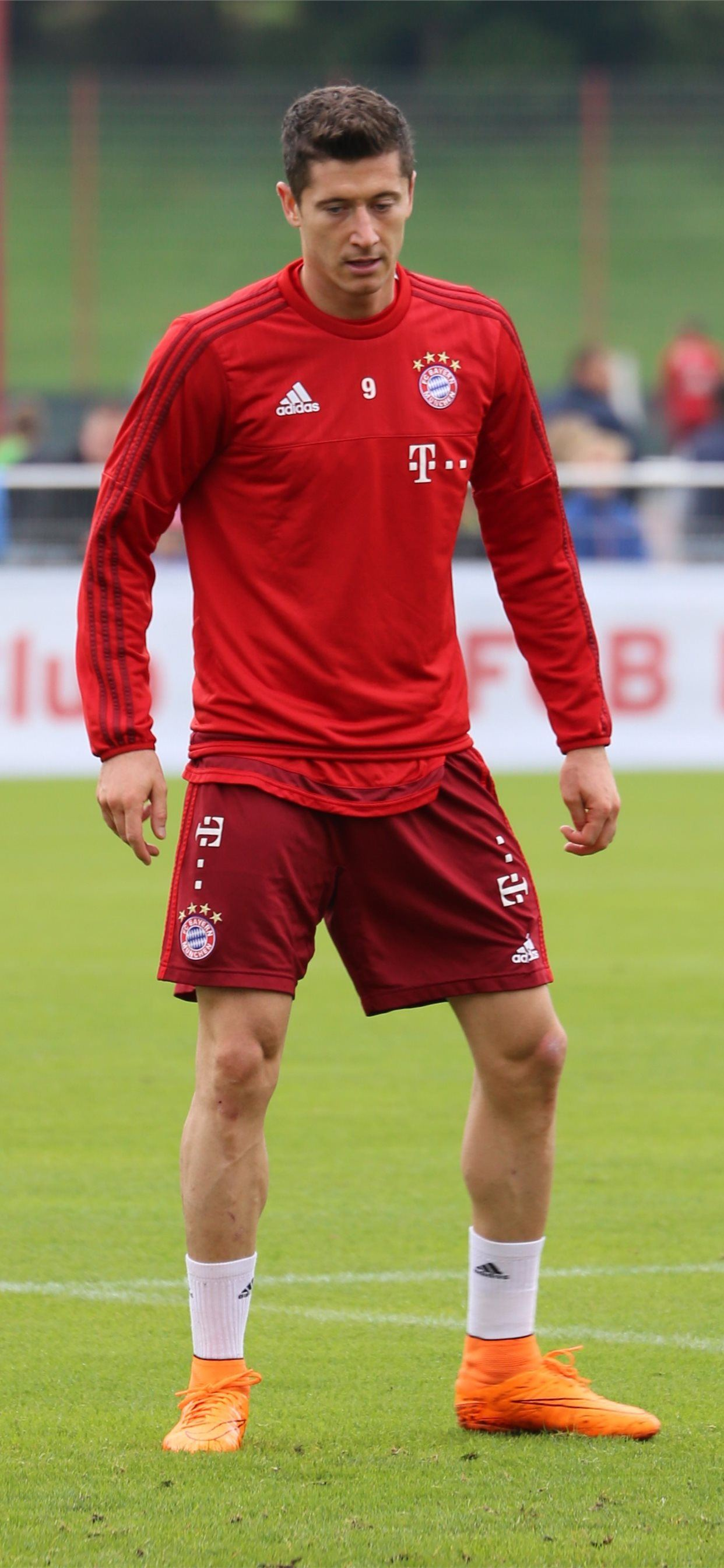 Robert Lewandowski Sports HQ Robert Lewandowski iPhone SE wallpaper