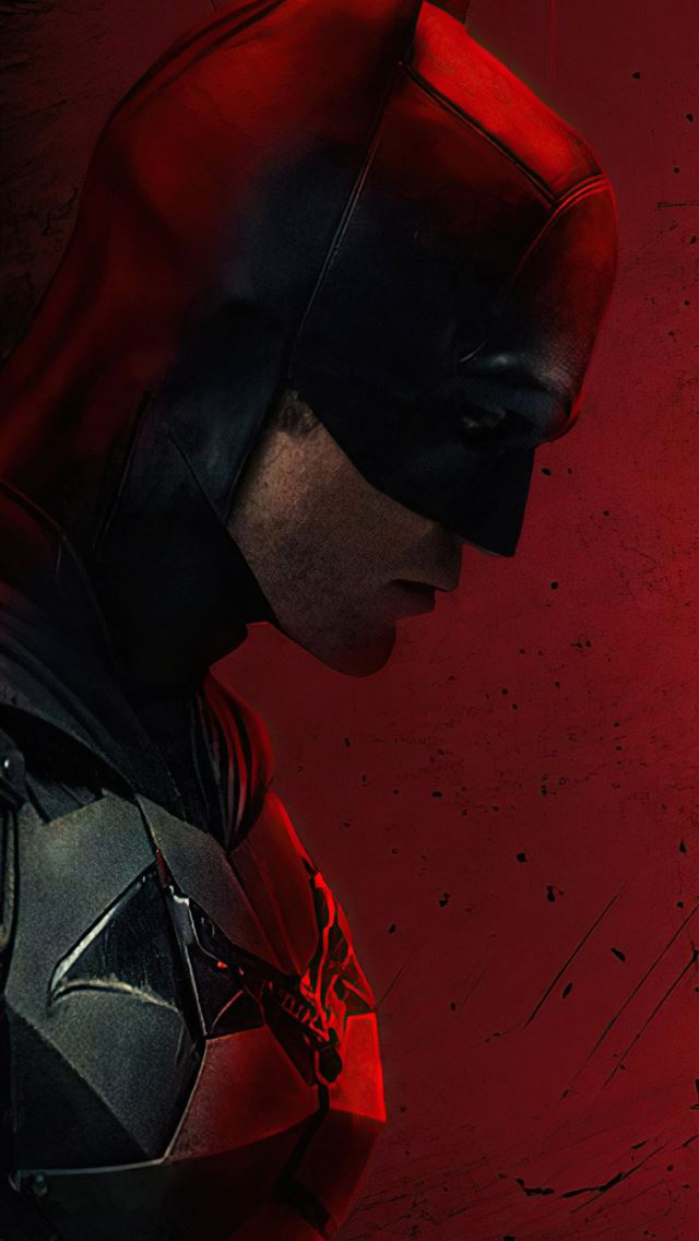 movie the batman 2021 iPhone wallpaper