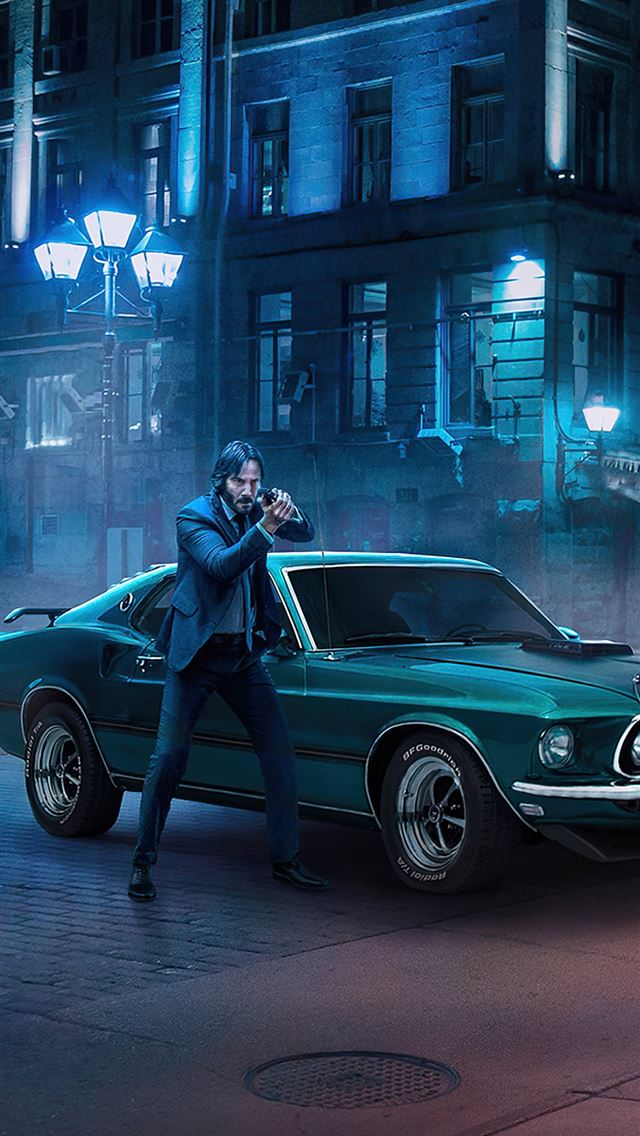 4k john wick 2020 iPhone wallpaper