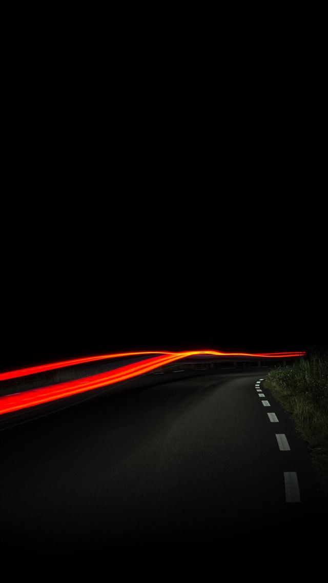 time lapse photography of orange light iPhone wallpaper