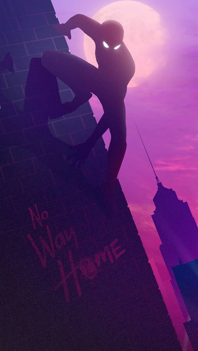 spiderman no way home poster 5k iPhone wallpaper