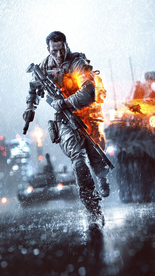 Battlefield IV iPhone wallpaper