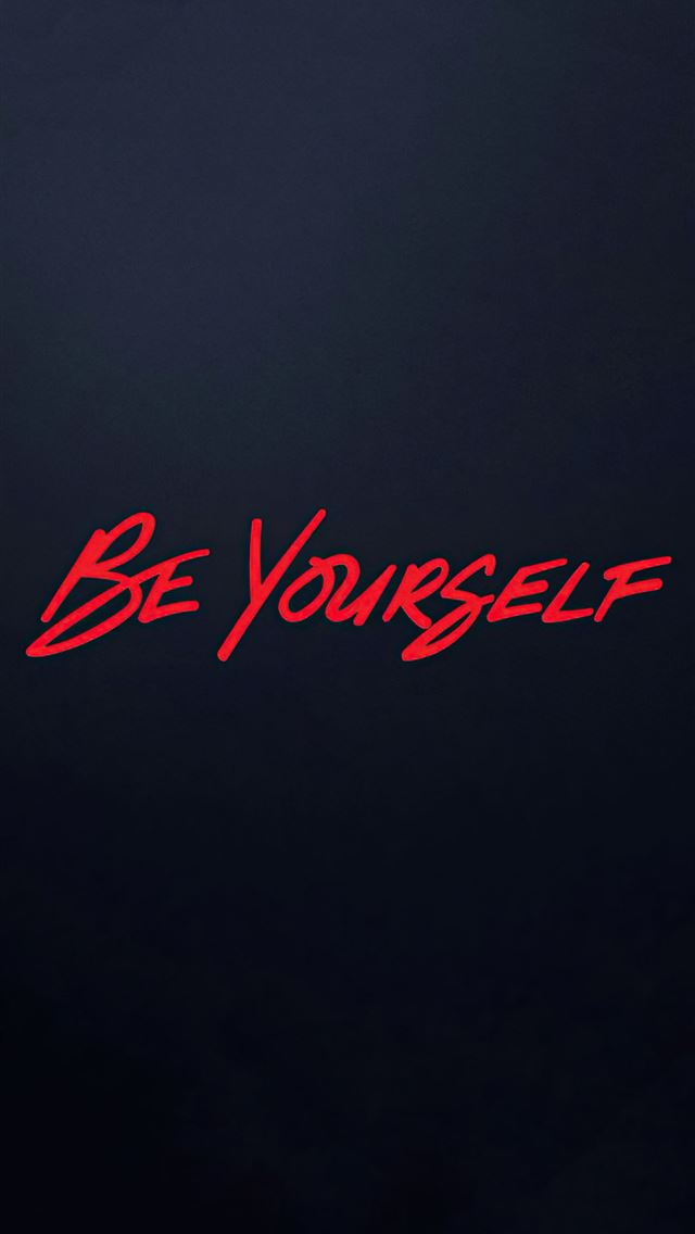 spider man miles morales be yourself iPhone wallpaper