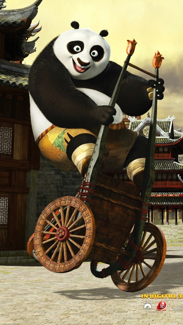 2011 Kung Fu Panda iPhone wallpaper