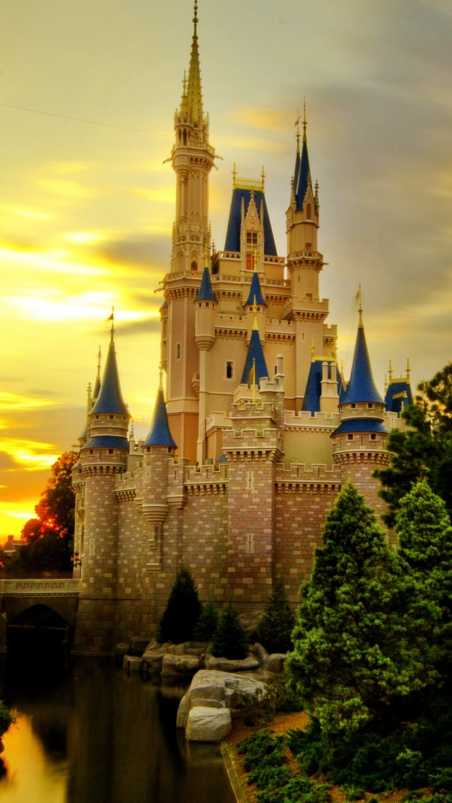 Cinderella Castle Iphone Wallpapers Free Download