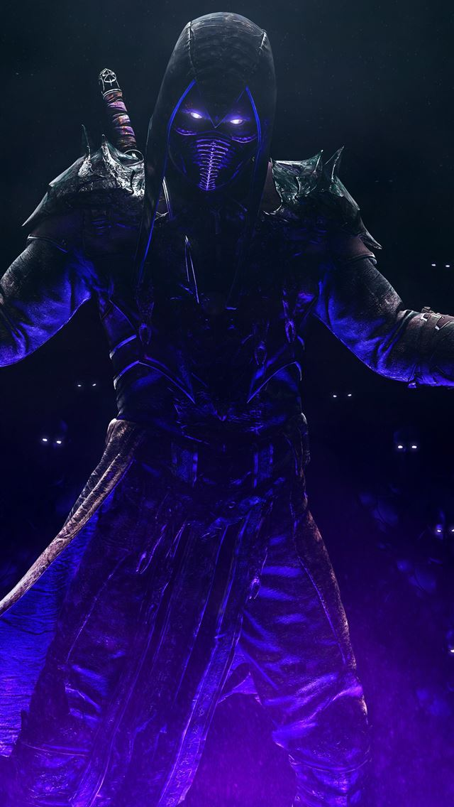 noob saibot mortal kombat 11 iPhone wallpaper