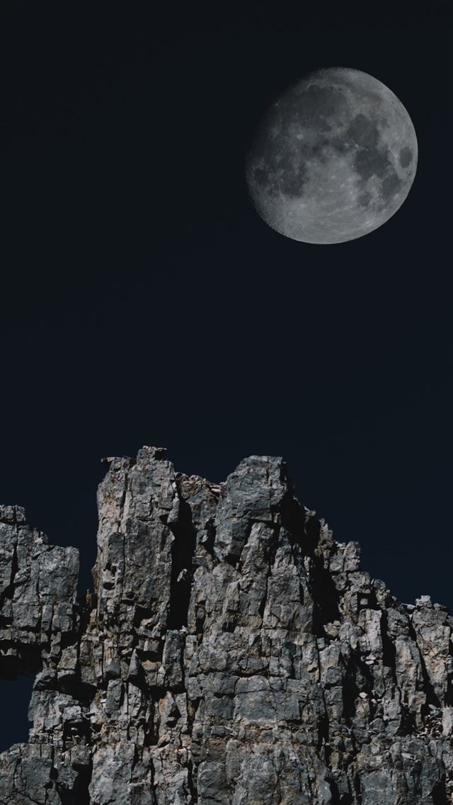 Astronomy Rocks Mountains 4k Iphone Wallpapers Free Download