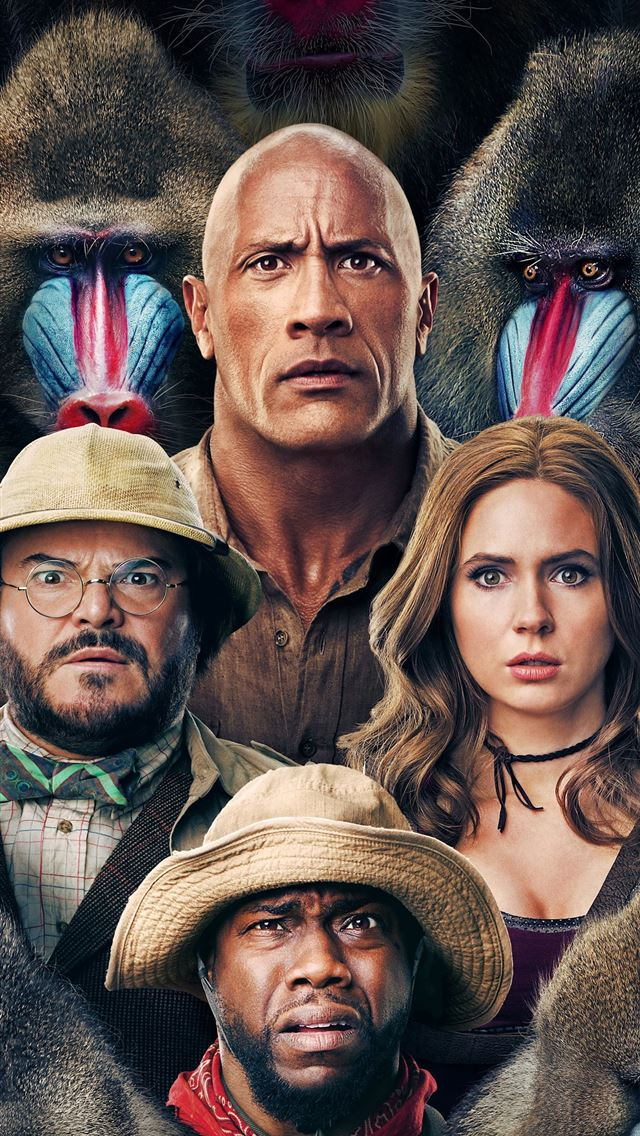 jumanji the next level 4k 2019 iPhone wallpaper