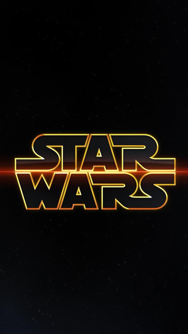 Star Wars Logo Iphone Wallpapers Free Download