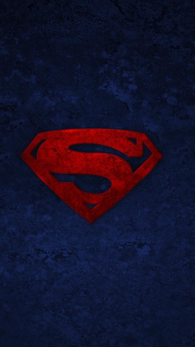 Superman Logo Iphone Wallpapers Free Download