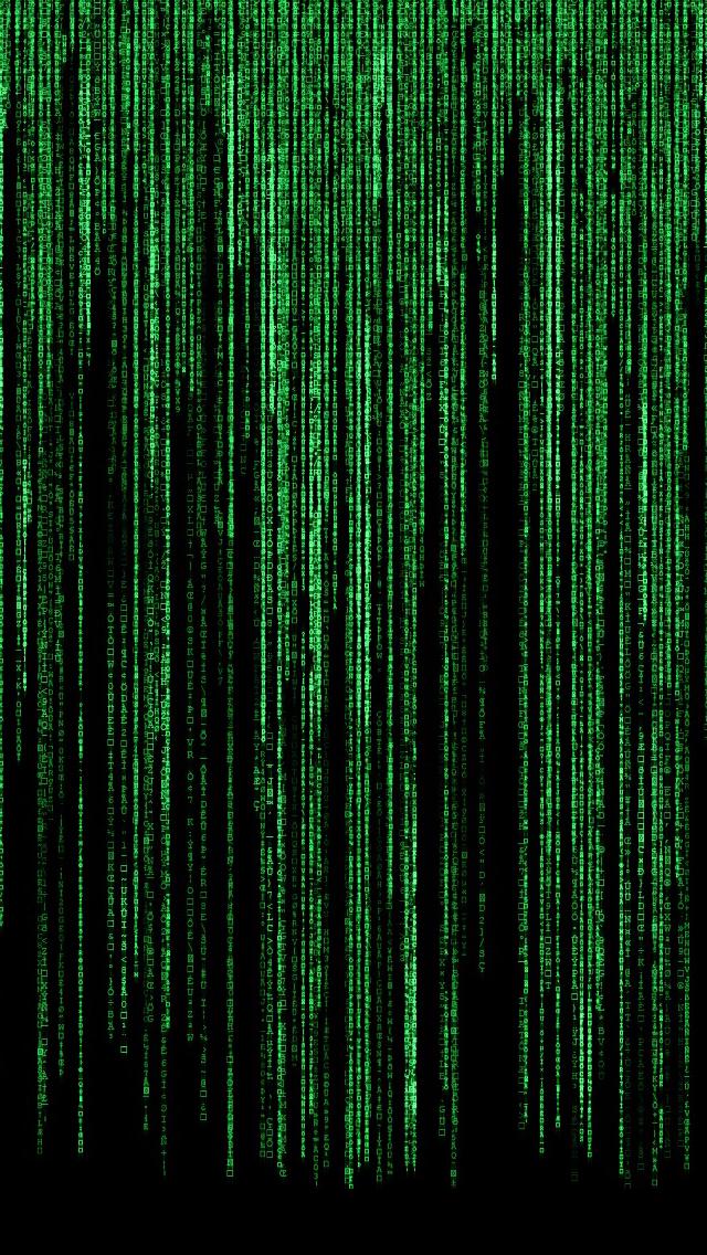 Matrix iPhone wallpaper