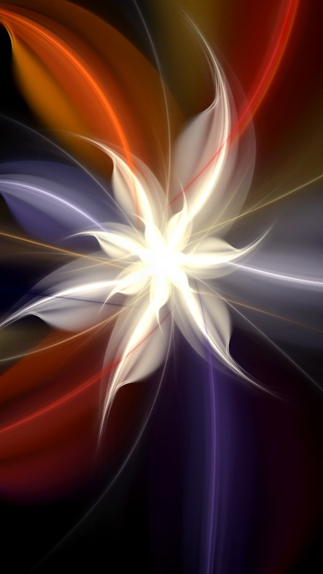 Flower Art Design iPhone wallpaper