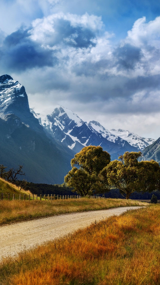 New Zealand Summer Landscape Iphone Wallpapers Free Download
