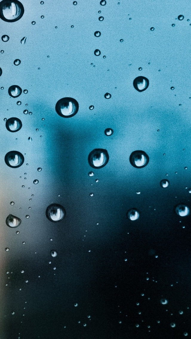 Rain Drop Window iPhone wallpaper