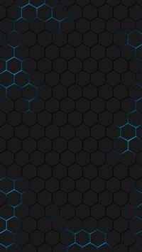 Hexagons Abstract iphone wallpaper ilikewallpaper com 200