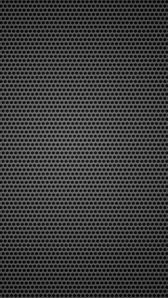 Black Background Metal Hole Small Iphone Wallpapers Free