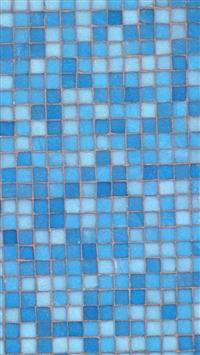 Blue Mosaic iPhone 5s wallpaper