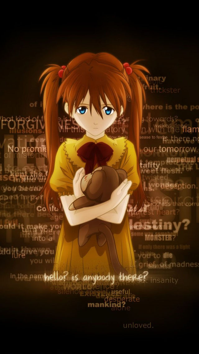 Girl Toy Loneliness iPhone wallpaper