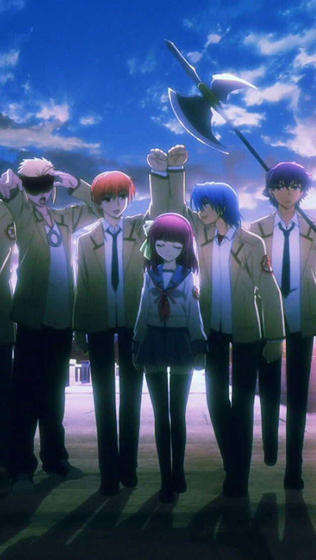 Angel Beats Iphone Wallpapers Free Download